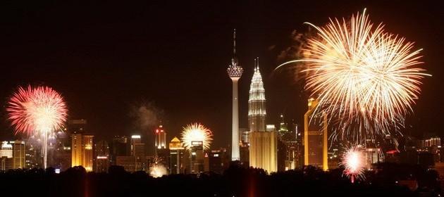 Новый год в Куала Лумпуре