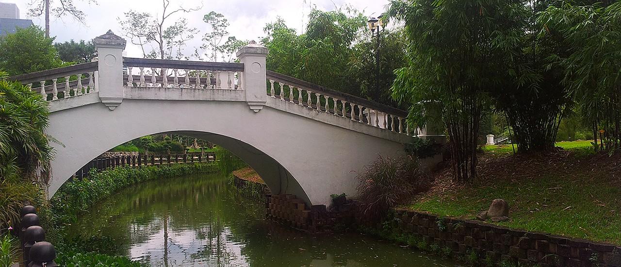Ботанический сад Куала-Лумпура