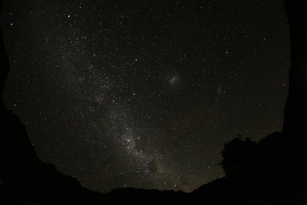 Звездное небо на Гили Мено