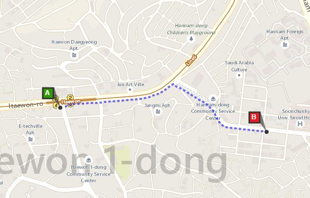 Как добраться до посольства Таиланда в Сеуле